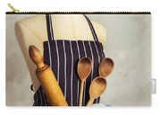 Apron With Utensils Carry-all Pouch