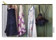 Aprons And Feather Duster Carry-all Pouch