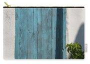 Aqua Door Textures Carry-all Pouch