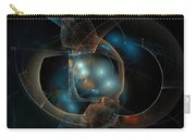 Aqua Wormholes Carry-all Pouch