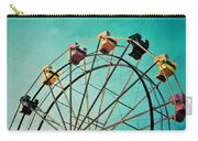 Aquamarine Dream - Ferris Wheel Art Carry-all Pouch