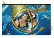 Aquaria Rising From Mask Of The Ancient Mariner Carry-all Pouch