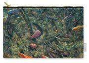 Aquarium 2 Carry-all Pouch by James W Johnson