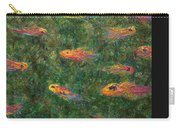 Aquarium Carry-all Pouch by James W Johnson
