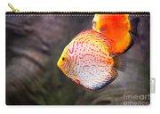 Aquarium Orange Spotted Fish Carry-all Pouch