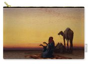 Arab At Prayer Carry-all Pouch