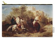 Arab Horsemen Carry-all Pouch by Eugene Fromentin