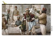 Arab Stonemasons, C1900 - To License For Professional Use Visit Granger.com Carry-all Pouch