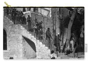 Arab Youths In Bethlehem 1938 Carry-all Pouch