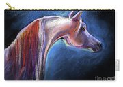 Arabian Horse Equine Painting Carry-all Pouch
