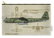 Arado Ar234b-2 - Profile Art Carry-all Pouch