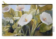 Aram Lillies Carry-all Pouch