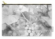 Arbor Grapes Sketch Carry-all Pouch