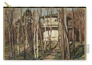 Arbour On The Mound Former Naydenovsky Park Moscow 1920 Apollinaris M Vasnetsov Carry-all Pouch