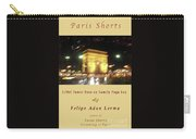 Arc De Triomphe By Bus Tour Cover Art Carry-all Pouch