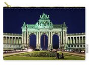 Arcade Du Cinquantenaire At Night - Brussels Carry-all Pouch