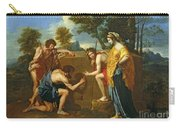 Arcadian Shepherds Carry-all Pouch by Nicolas Poussin