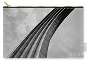 Arch In Black And White Carry-all Pouch