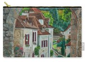 Arch Of Saint-cirq-lapopie Carry-all Pouch