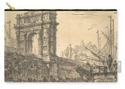 Arch Of Trajan In Ancona  Carry-all Pouch