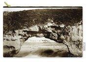 Arch Rock, Santa Cruz, California Circa 1900 Carry-all Pouch