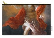Archangel Michael Hurls The Devil Into The Abyss Carry-all Pouch