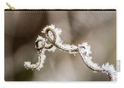 Arched Frosty Curlique Carry-all Pouch