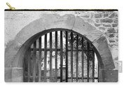 Arched Gate B W Carry-all Pouch