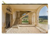 Arches, Entrance And Stairs Of Derelict Agios Georgios Church Carry-all Pouch