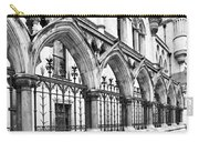 Arches Front Of The Royal Courts Of Justice London Carry-all Pouch