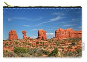 Arches National Park - Hoodoos Carved In Entrada Sandstone Carry-all Pouch