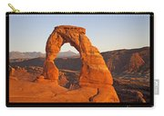 Arches National Park Poster Carry-all Pouch