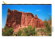 Arches National Park, Utah Usa - Tower Of Babel, Courthouse Tower Carry-all Pouch
