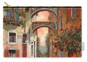 Archetti In Rosso Carry-all Pouch by Guido Borelli