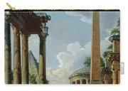 Architectural Capriccio With A Preacher In The Ruins Carry-all Pouch