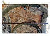 Architectural Ceiling Of The Building Owned By The Rialto Market In Venice, Italy Carry-all Pouch