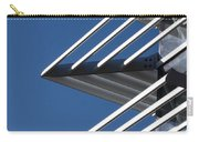 Architectural Detail Of Triangles Carry-all Pouch