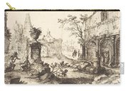 Architectural Fantasy With Roman Ruins Carry-all Pouch