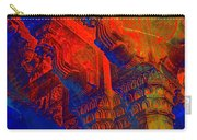 Architecture Detail  Amber Fort Palace India Rajasthan Jaipur Abstract Square 1a Carry-all Pouch