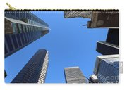 Architecture Tall Color Buildings Carry-all Pouch