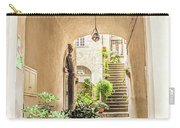 Archway And Stairs In Italy Carry-all Pouch