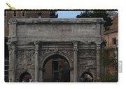 Arco Di Settimio Severo Carry-all Pouch