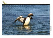 Arctic Loon Carry-all Pouch