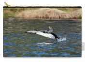 Arctic Loon Take Off Carry-all Pouch