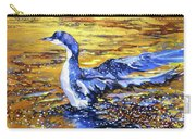 Arctic Loon On Golden Pond Carry-all Pouch