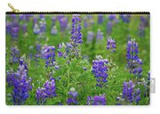 Arctic Lupine Lupinus Ancticus Carry-all Pouch