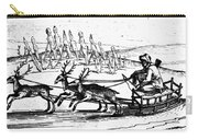 Arctic Sledding, C1618 Carry-all Pouch