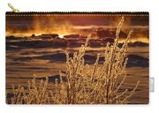 Arctic Sea Smoke Sunrise Carry-all Pouch