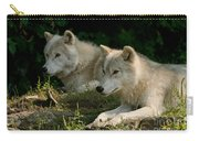 Arctic Wolf Pictures 1268 Carry-all Pouch