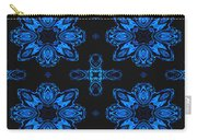 Area Blue Abstract Carry-all Pouch